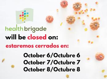 October Closings